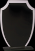 Shield Black Reflection Glass Achievement Awards