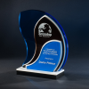 Fluctus Cobalt Glass Awards