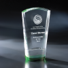 Duches Green Optical Crystal Awards