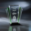 San Remo Green Optical Crystal Awards