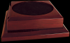 Rosewood Royal Piano Pedestal Base Stock Bases for Perpetual Trophies