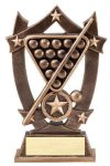 3D Sport Stars Billiards 3D Sport Stars Resin Trophy Awards
