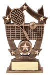3D Sport Stars Tennis 3D Sport Stars Resin Trophy Awards