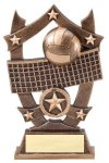 3D Sport Stars Volleyball 3D Sport Stars Resin Trophy Awards