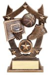 3D Sport Stars Basketball 3D Sport Stars Resin Trophy Awards