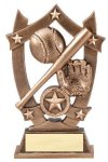 3D Sport Stars Baseball 3D Sport Stars Resin Trophy Awards