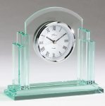 Glass Desk Clock Achievement Awards