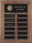 Walnut Perpetual Plaques Achievement Awards