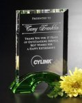 Greenbury Crystal Award Achievement Awards