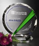 Danbury Circle Crystal Award Achievement Awards