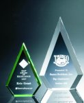 Beveled Peaks Acrylic Award Achievement Awards