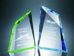 Faceted Mountain Cut Acrylic Award Achievement Awards