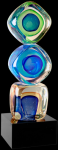Stacked Vision Art Glass Award Achievement Awards