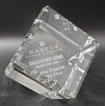 Crystal Cube Award All Optical Crystal