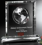 Columbus Global Award All Optical Crystal