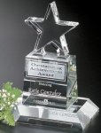 Champion Pedestal Star All Optical Crystal