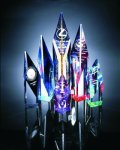 Quartz Cut Acrylic Award Art Glass Awards