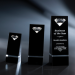 Tatiana Black Optical Crystal Awards