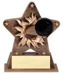 Star Burst Resin Hockey Bursting Star Resin Trophy Awards