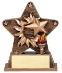 Star Burst Resin Victory Bursting Star Resin Trophy Awards