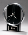 Black and Silver Modern Design Clock Circle Awards