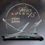 Orion Prime Clear Glass Awards