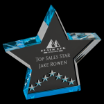 Blue Star Performance Acrylic Colored Acrylic Awards
