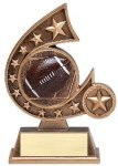 Resin Comet Series Football Comet Resin Trophy Awards