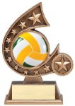 Resin Comet Series Volleyball Comet Resin Trophy Awards