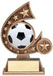 Resin Comet Series Soccer Comet Resin Trophy Awards