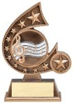 Resin Comet Series Music Comet Resin Trophy Awards