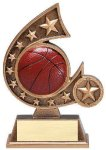 Resin Comet Series Basketball Comet Resin Trophy Awards