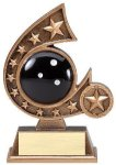 Resin Comet Series Bowling Comet Resin Trophy Awards