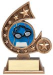 Resin Comet Series Swimming Comet Resin Trophy Awards