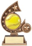 Resin Comet Series Softball Comet Resin Trophy Awards