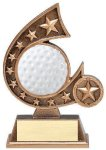 Resin Comet Series Golf Comet Resin Trophy Awards
