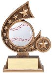 Resin Comet Series Baseball Comet Resin Trophy Awards