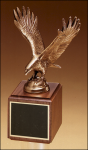 Fully Modeled Antique Bronze Eagle Casting Contemporary Cast Awards