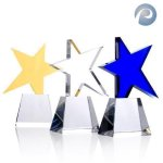 Meteor Star Award Contemporary Corporate Crystal Awards