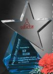 Azure Star Contemporary Corporate Crystal Awards