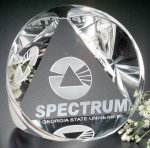 Pyramid Prism Contemporary Corporate Crystal Awards