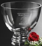 Pedestal Bowl Crystal Glass Awards