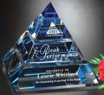 Apogee Pyramid Crystal Glass Awards