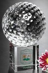 Stratus Golf Crystal Glass Awards