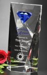 Gemstone Award Crystal Glass Awards