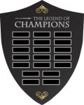 Custom Perpetual Legends Plaque  Donor Wall Designs & Ideas