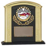 Black & Gold Roman Column Award Economy Acrylic Awards