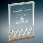 Gold Diamond Mirage Acrylic Employee Awards