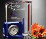 Chesterfield Clock Crystal Award Employee Awards
