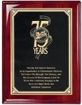 Rosewood Piano Finish Corporate Plaque Engraved Plaques | Custom